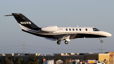 N601FM - Cessna 525C CitationJet 4 - Private