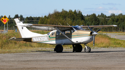 N443GR - Cessna U206F Stationair - K Bay Air