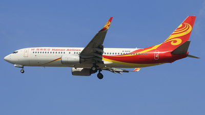 B-5373 - Boeing 737-84P - Hainan Airlines