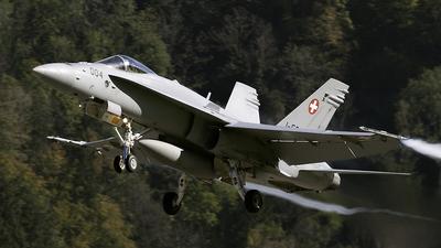 J-5004 - McDonnell Douglas F/A-18C Hornet - Switzerland - Air Force