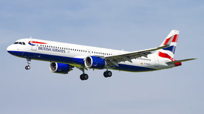 G-NEOU - Airbus A321-251NX - British Airways