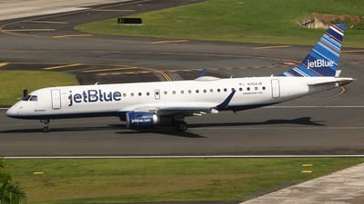 A picture of N354JB - Embraer E190AR - JetBlue Airways - © Carlos Vaz