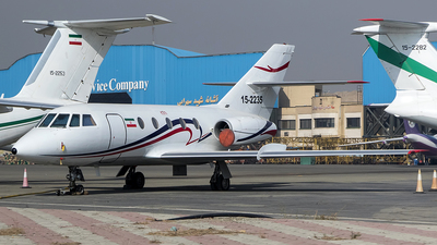 15-2235 - Dassault Falcon 20E - Iran - Revolutionary Guard