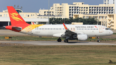 A picture of B1811 - Airbus A320214 - Capital Airlines - © Nishinomiya