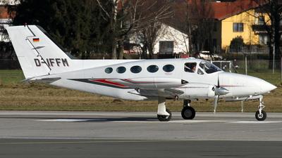 A picture of DIFFM - Cessna 414 - [4140801] - © Daniel Schwinn