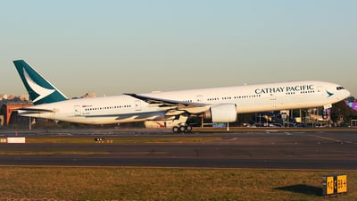 A picture of BKPR - Boeing 777367(ER) - Cathay Pacific - © Mark H