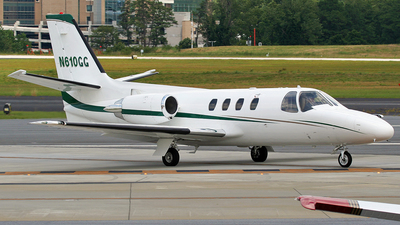 N610GG - Cessna 501 Citation SP - Private