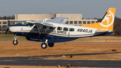 A picture of N840JA - Cessna 208 Caravan - Sun Air Express - © Johan S. Gomez