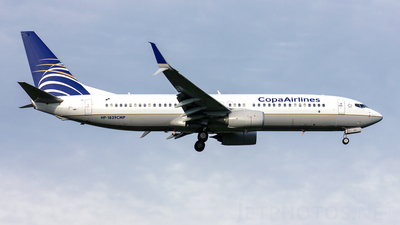 HP-1829CMP - Boeing 737-8V3 - Copa Airlines