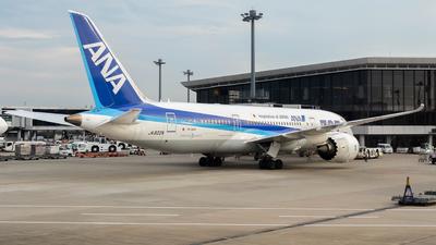 JA822A - Boeing 787-8 Dreamliner - All Nippon Airways (ANA)