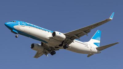 LV-GVA  - Boeing 737-887 - Aerolíneas Argentinas