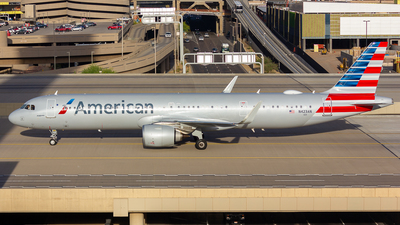 N423AN - Airbus A321-253NX - American Airlines