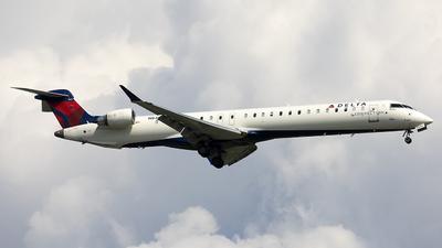 A picture of N840SK - Mitsubishi CRJ900LR - Delta Air Lines - © Jeremy D. Dando