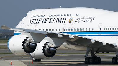 9K-GAA - Boeing 747-8JK(BBJ) - Kuwait - Government