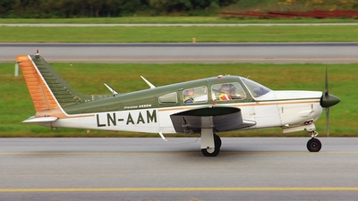 LN-AAM - Piper PA-28R-200 Cherokee Arrow II - Private