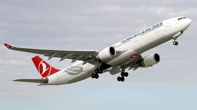 TC-JNT - Airbus A330-303 - Turkish Airlines