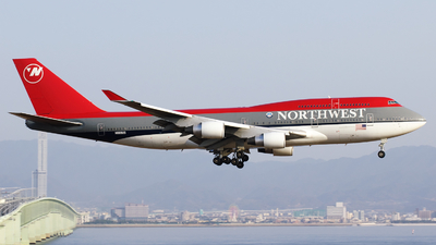 N669US - Boeing 747-451 - Northwest Airlines