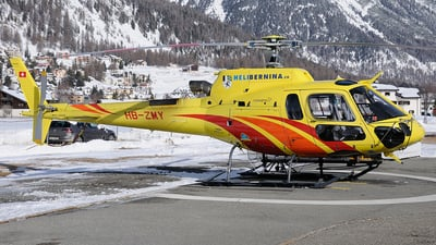 HB-ZMY - Aérospatiale AS 350B Ecureuil - Heli Bernina