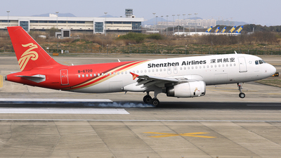 A picture of B6720 - Airbus A320232 - Shenzhen Airlines - © Qiao Zheng