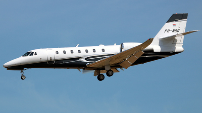 PH-MDG - Cessna 680 Citation Sovereign - Air Service Liège (ASL)