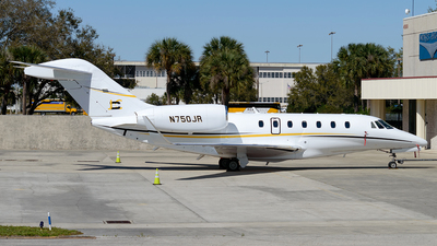 N750JR - Cessna 750 Citation X - Private