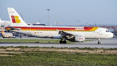 EC-FGH - Airbus A320-211 - Iberia