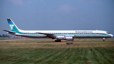 N4867T - Douglas DC-8-73(CF) - Transamerica Airlines