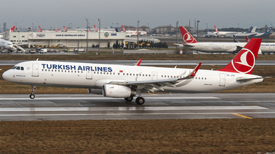 TC-JTR - Airbus A321-231 - Turkish Airlines