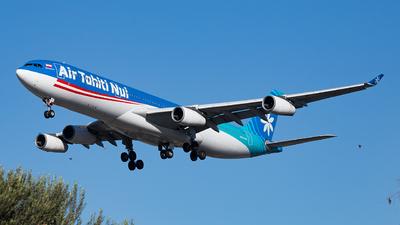 F-OJGF - Airbus A340-313 - Air Tahiti Nui