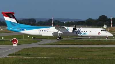 LX-LGN - Bombardier Dash 8-Q402 - Luxair - Luxembourg Airlines