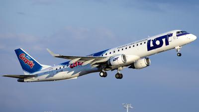 A picture of SPLNB - Embraer E195LR - LOT - © Kris Van Craenenbroeck