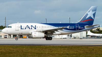 HC-CPQ - Airbus A319-132 - LAN Ecuador