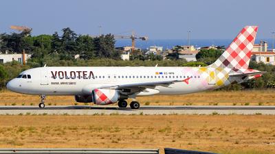A picture of ECNPB - Airbus A320214 - Volotea - © Pampillonia Francesco - Plane Spotters Bari