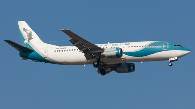 JY-RFF - Boeing 737-4K5 - Royal Falcon
