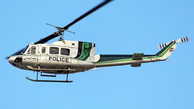 1905 - Bell 212 - Iran - Police Aviation