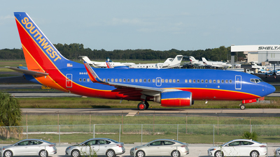 N446WN - Boeing 737-7H4 - Southwest Airlines