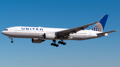 A picture of N793UA - Boeing 777222(ER) - United Airlines - © Ricky Teteris