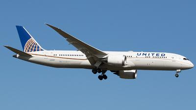 N26967 - Boeing 787-9 Dreamliner - United Airlines