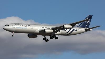 A picture of LVFPV - Airbus A340313 - [0193] - © Maurizio Riva