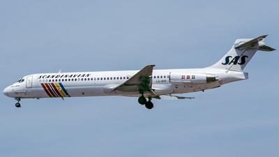 LN-RMP - McDonnell Douglas MD-87 - Scandinavian Airlines (SAS)