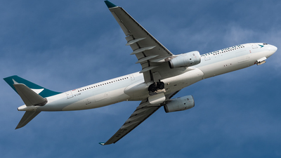 B-LAN - Airbus A330-343 - Cathay Pacific Airways