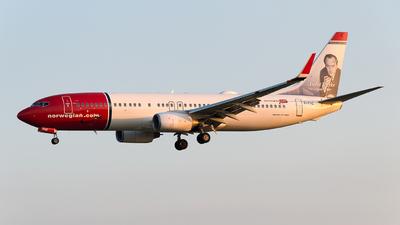 EI-FHZ - Boeing 737-8JP - Norwegian