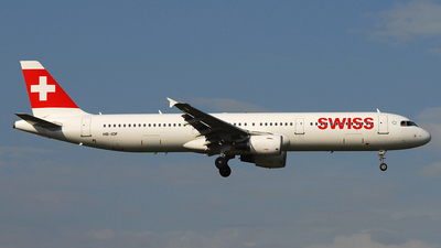 A picture of HBIOF - Airbus A321111 - Swiss - © Alessandro Berti