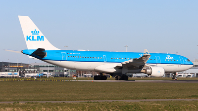 A picture of PHAOB - Airbus A330203 - KLM - © Joost Alexander