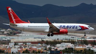 TC-TJP - Boeing 737-8BK - Travel Service (Corendon Airlines)
