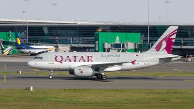 A7-CJB - Airbus A319-133(LR) - Qatar Airways