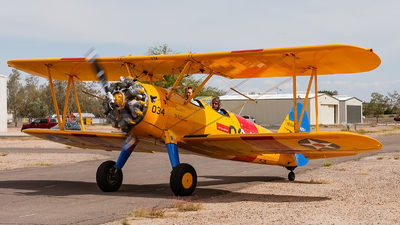 N51034 - Boeing Stearman IB75A - Private