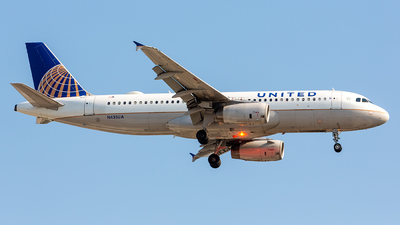 N435UA - Airbus A320-232 - United Airlines