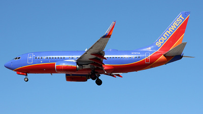 N787SA - Boeing 737-7H4 - Southwest Airlines