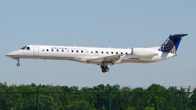 A picture of N15986 - Embraer ERJ145LR - United Airlines - © DJ Reed - OPShots Photo Team